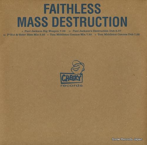 フェイスレス mass destruction CHEEKY21
