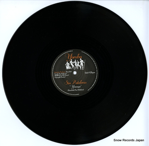 SIN PALABRAS yemaya YOR102 - disc