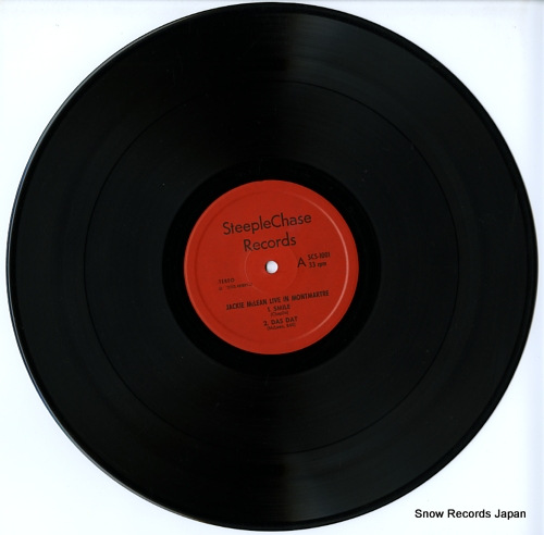 MCLEAN, JACKIE live at montmartre SCS1001 - disc