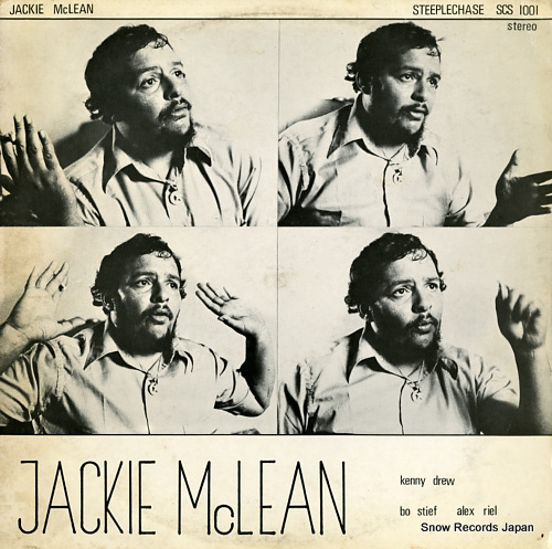 MCLEAN, JACKIE live at montmartre SCS1001 - front cover