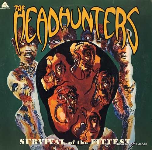 HEADHUNTERS, THE survival of the fittest AL4038 - front cover
