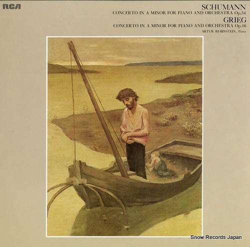 RUBINSTEIN, ARTUR schumann; concerto in a minor for piano and orchestra op.54 FCCA851 - front cover