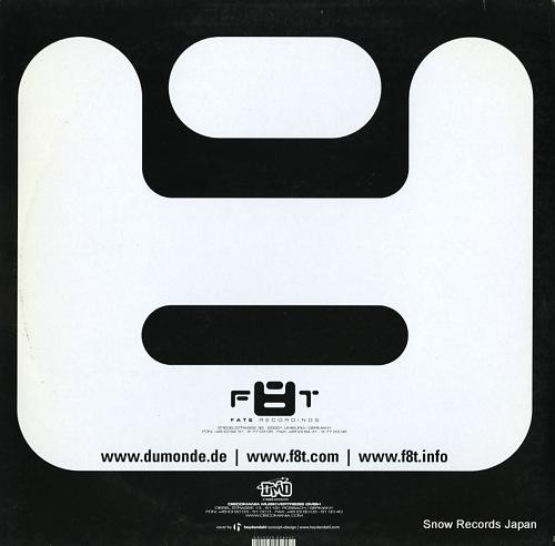JAMX & DE LEON can u dig it? (self control) F8T001-12 - back cover