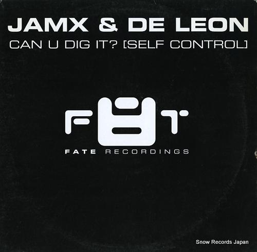 JAMX & DE LEON can u dig it? (self control) F8T001-12 - front cover