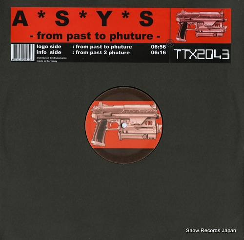 ASYS from past to phuture TTX2043 - front cover