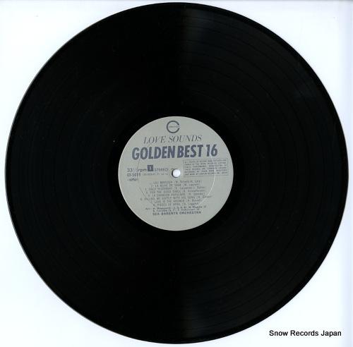 シー・バレンツ・オーケストラ ラブ・サウンド・ゴールデン・ベスト16 GX-5019