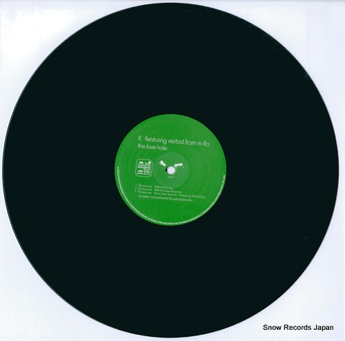 K. the love hole RR12-88135 - disc