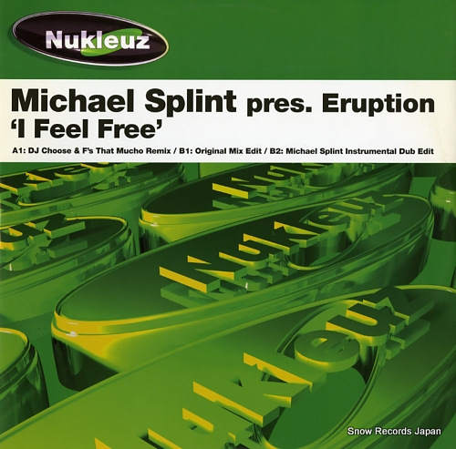 SPLINT, MICHAEL i feel free 0543PNUK - front cover