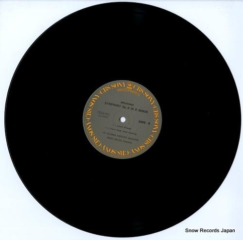 WALTER, BRUNO bruckner; symphony no.9 in d minor FCCA519 - disc