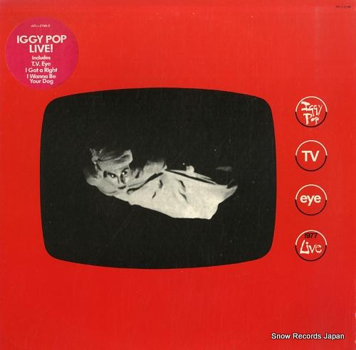 イギー・ポップ tv eye - 1977 live AFL1-2796