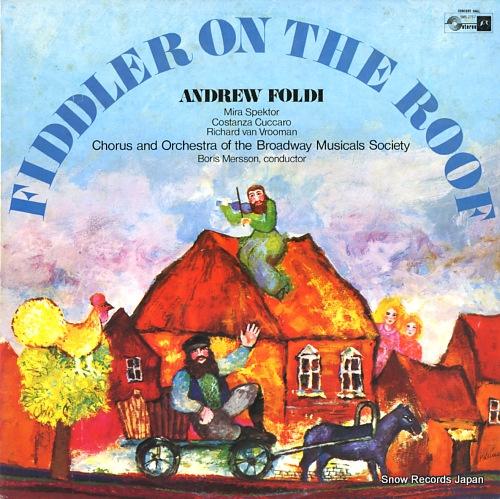 アンドリュー・フォルディ 屋根の上のヴァイオリン弾き(全曲) SMS-2767