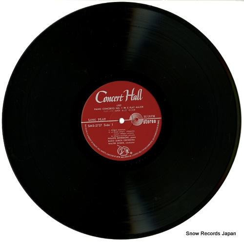 ENTREMONT, PHILIPPE liszt; piano concertos no.1&no.2 SMS-2727 - disc