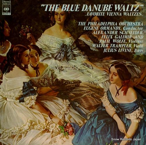 V/A the blue danube waltz favorite vienna waltzes FCCA-23 - front cover