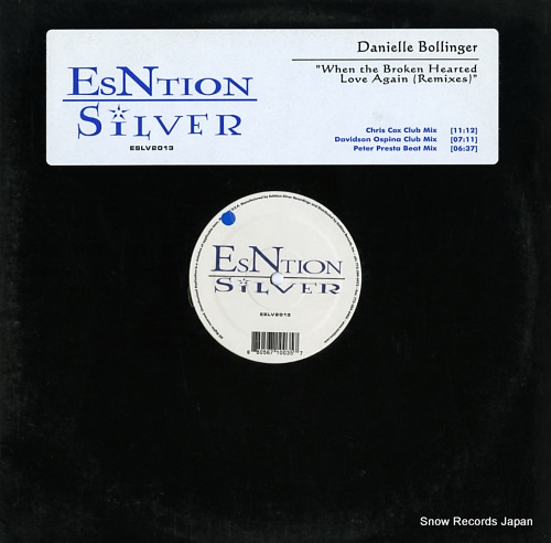 BOLLINGER, DANIELLE when the broken hearted love again (remixes) ESLV2013 - front cover