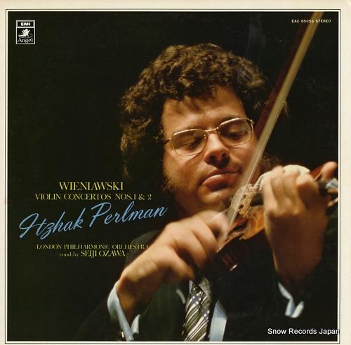 イツァーク・パールマン ヴィエニャフスキー:ヴァイオリン協奏曲第1番、第2番 EAC-85053