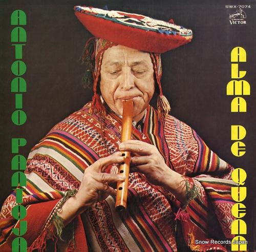 PANTOJA, ANTONIO alma de quena SWX-7074 - front cover