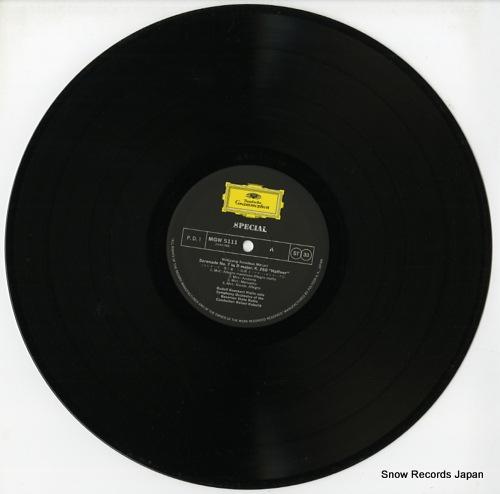 KUBELIK, RAFAEL mazart; haffner serenade MGW5111 - disc