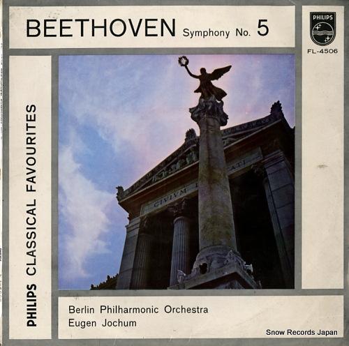 JOCHUM, EUGEN beethoven; symphony no.5 FL-4506 - front cover