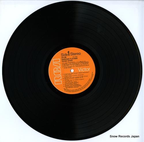 V/A hawaiian flavour / 18 songs of the hawaiian islands SP140