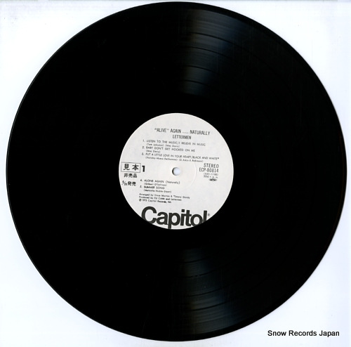 LETTERMEN, THE alive again...naturally ECP-80814 - disc