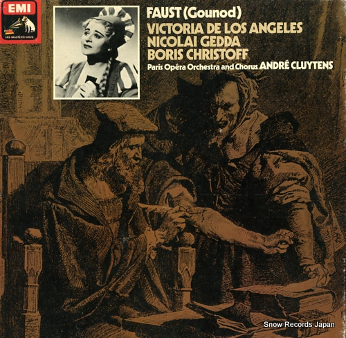 CLUYTENS, ANDRE gounod; faust SLS816 - front cover
