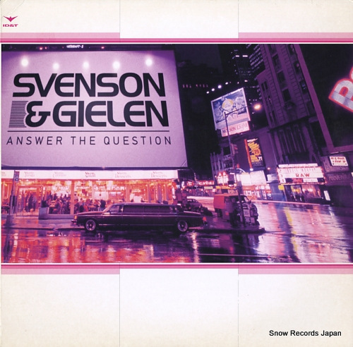 SVENSON & GIELEN answer the question 7005565 - front cover