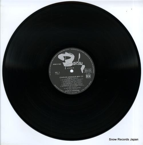 AZNAVOUR, CHARLES max 20 MAX-54 - disc