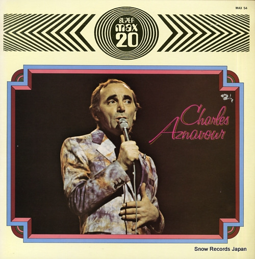 AZNAVOUR, CHARLES max 20 MAX-54 - front cover