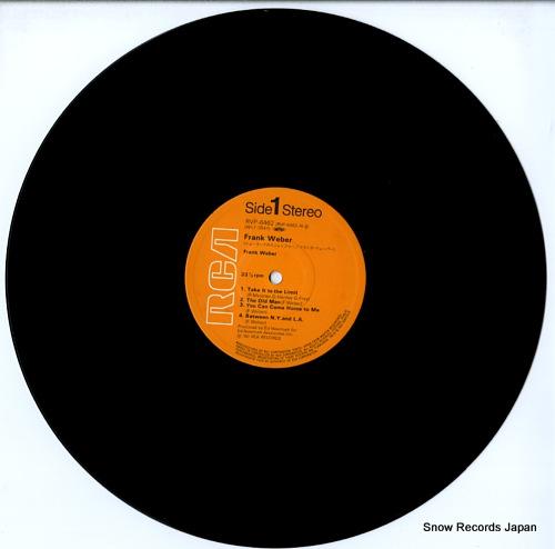 WEBER, FRANK frank weber RVP-6462 - disc