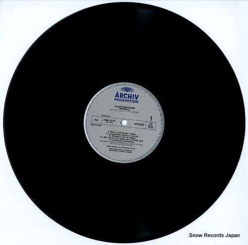 JURGENS, JURGEN claudio monteverdi; madrigale 20MA0078 - disc