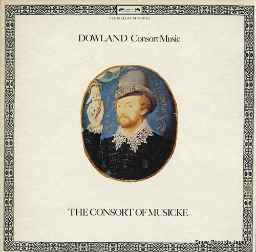 CONSORT OF MUSICKE, THE dowland; consort music DSLO533 - front cover