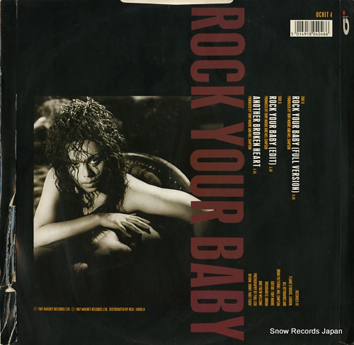 BROWN, O'CHI rock your baby OCHIT4 - back cover