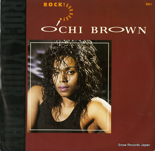 BROWN, O'CHI rock your baby OCHIT4 - front cover