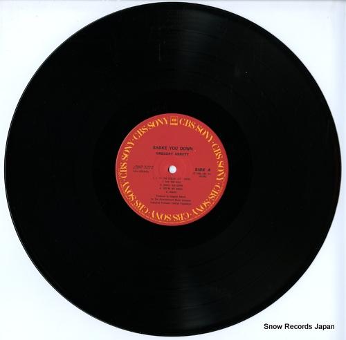 ABBOTT, GREGORY shake you down 28AP3272 - disc