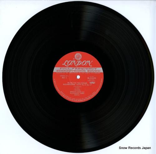 EDEN, BRACHA, AND ALEXANDER TAMIR music for two pianos SLA6425 - disc