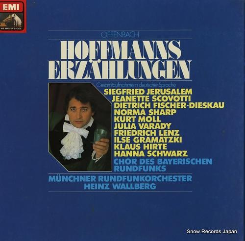 WALLBERG, HEINZ offenbach; hoffmanns erzahlungen 1C157-45351/53 - front cover