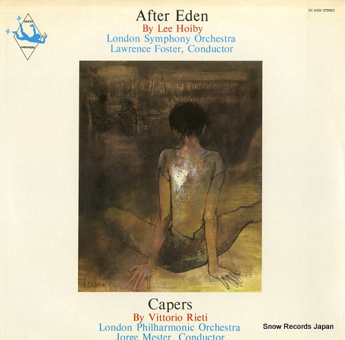 FOSTER, LAWRENCE / JORGE MESTER hoiby; after eden / rieti; capers DC-6434 - front cover