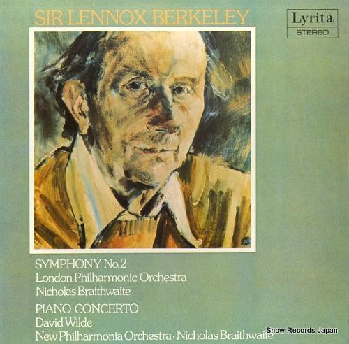 BRAITHWAITE, NICHOLAS berkeley; symphony no.2 SRCS.94 - front cover