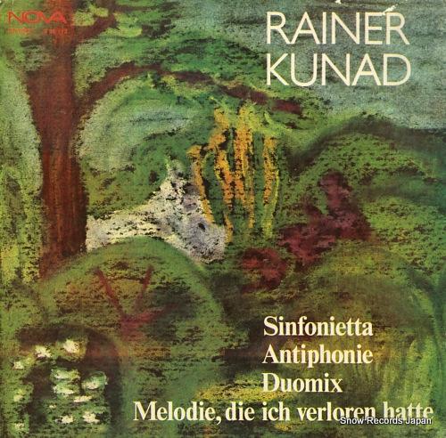 V/A rainer kunad; sinfonietta, antiphonie, duomix 885113 - front cover