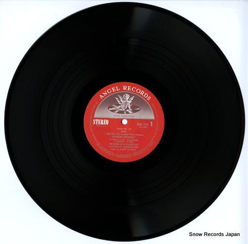 CLUYTENS, ANDRE ravel; bolero, rapsodie espagnole, etc EAA-105 - disc