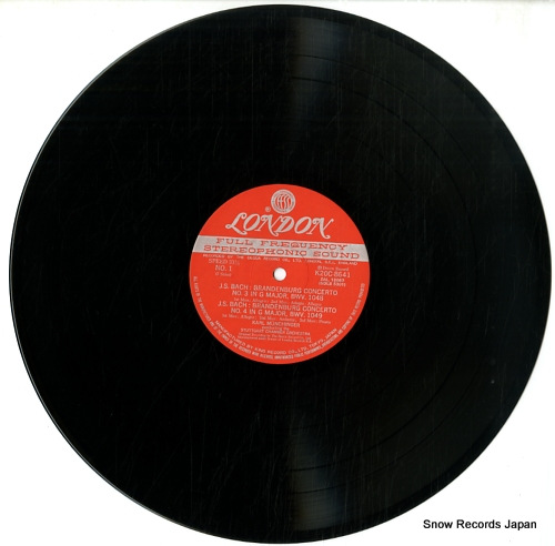 MUNCHINGER, KARL bach; brandenburg concertos nos.3, 4 & 5 K20C-8641 - disc