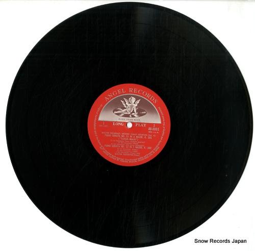 GIESEKING, WALTER mozart piano sonatas vol.4 AB-8001 - disc