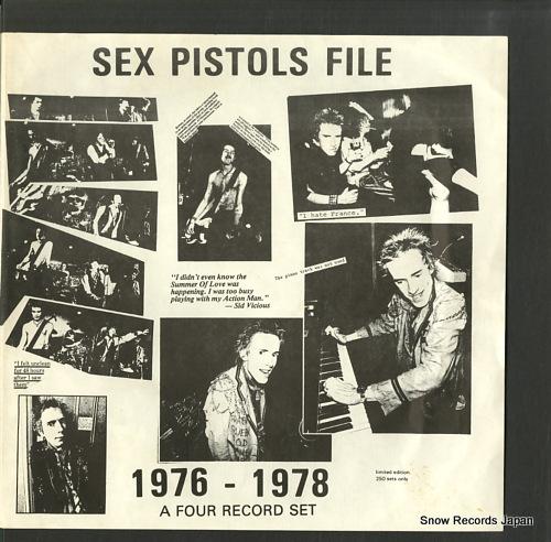 セックス・ピストルズ sex pistols file 1976-1978 BLA169