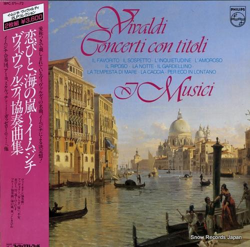 I MUSICI vivaldi; concerti con titoli 18PC-171-72 - front cover