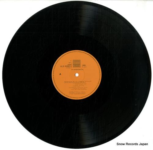 REICHERT, MANFRED paul hindemith; die 2 kammermusiken ULS-3288-H - disc
