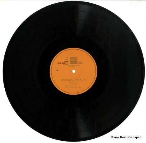 REICHERT, MANFRED paul hindemith; die 2 kammermusiken ULS-3289-H - disc