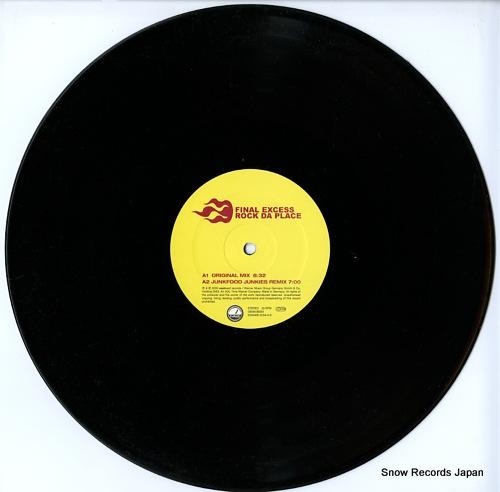 FINAL EXCESS rock da place 5050466-3234-0-8 - disc