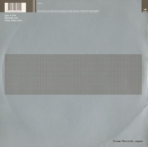 IGOR S boomerang 7006415 - back cover