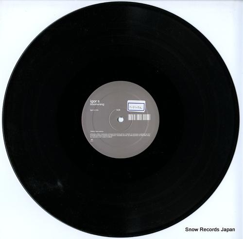 IGOR S boomerang 7006415 - disc