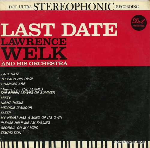 WELK, LAWRENCE, AND HIS ORCHESTRA last date DLP25350 - front cover